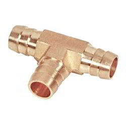 Brass Hose Tee Joint