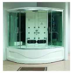 Corner Steam Tub Shower Cabin