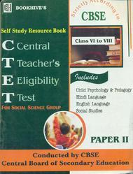 Self Study Resource Book CTET Paper II Class VI to VIII