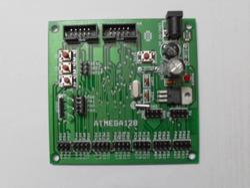 ATmega 128 Microcontroller Development Board