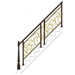 Staircase Hand Railing