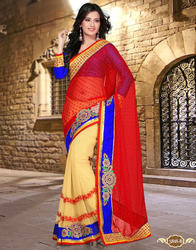 Extraordinary Party Wear Designer Sarees