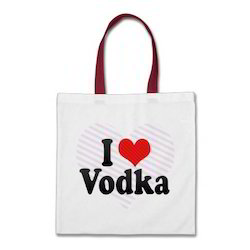I Love Vodka Canvas Bags