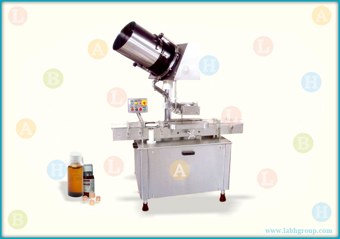 Automatic Measuring Cup Placement Machine for Pharmaceutical Bottles