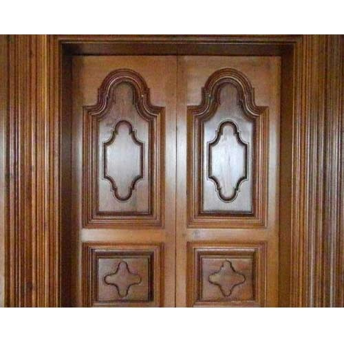 Teak Wood Door Designs Pictures : Burma Teak Wood Door  Andhra Timber & Packaging Industries ...