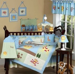 applique kids bedding