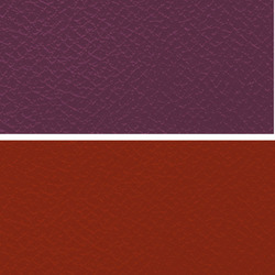 Purple Manmade Leather Cloth