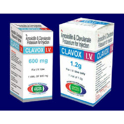 Clavox 1.2g  (Amoxicillin and Clavulanate Potassium Injection USP 1.2 G)  Indications :