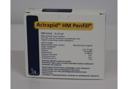 Actrapid Short Acting Human Insulin