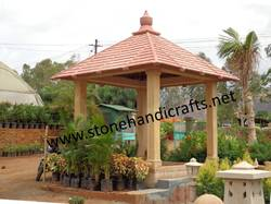 Sand Stone Garden Gazebo
