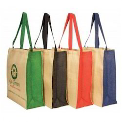 Different Coloured Jute Bag