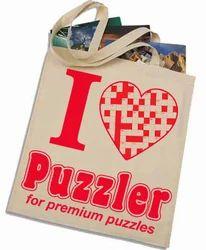 Puzzler Printed Bag