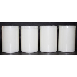 2.8/4 White Unscented Pillar Candle