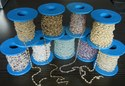 925 Beaded Chains with Gemstone Beads