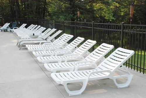 Plastic Deck Chair Outdoor And Garden Furniture