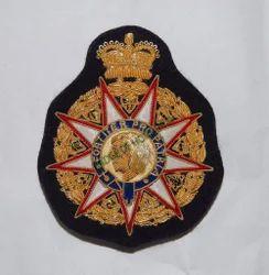 Fortiter Pro Ptria Crest Embroidered Badge