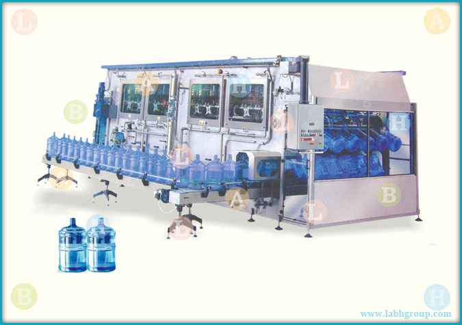 Automatic Drinking Water Jar Filling Line for 5 Gallon Water Bottles