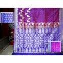 Designer Pink Silk Saree