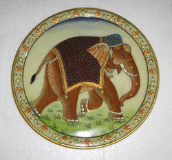 Marble Painted Plate