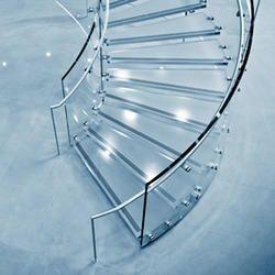 glass evo frameless railing