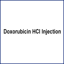 Doxorubicin HCl Injection