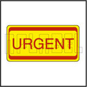 820452 Urgent -  Office Stationery Sticker