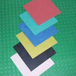 White Insertion Rubber sheet