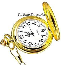 Stylish Push Button Pocket Watch