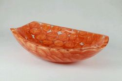 Prayosha Boatcut Golden Pebbles Wash Basin