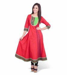 Designer Cotton Jaipuri Kurti