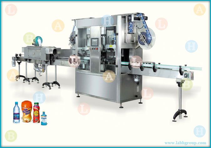 Automatic Double Head Shrink Label Applicator Equipment