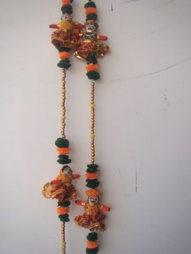 Rajasthani Cloth Handicrafts Rajasthani Dressed Couple Door Wall