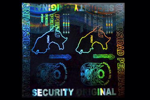Custom Hologram Transparent for Cards