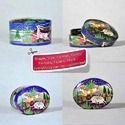 Paper Mache Hand Painted Small Candy Souvenier Box