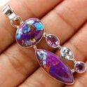 Purple Turkish Pendant