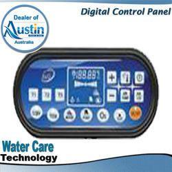swimming pool pipeless filter digital control panel