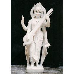 Exquisite Saraswati Statue in Standing Posture