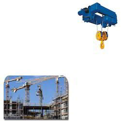 Electric Hoist for Construction Industry