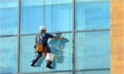 glass facade cleaning services