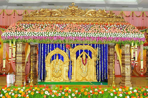 Decorations Stage Decorations Pillars Exporter from Erode