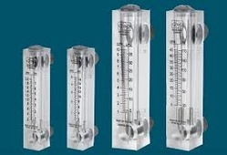 acrylic flow rota meter