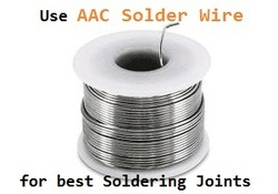 AAC 50/50 Solder Wire
