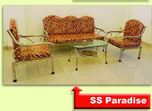 Stainless Steel Sofa Set Stainless Steel Sofa Set 2 1 1 Ss