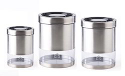 Airtight Stainless Steel Canisters