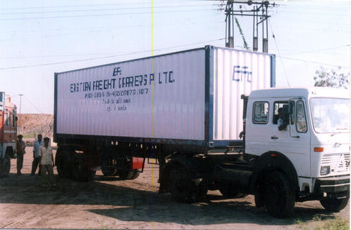 Indian Container Truck