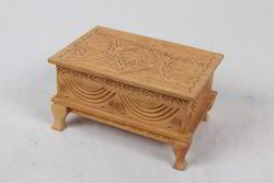 Wooden Carving Jewelry Box with Paye