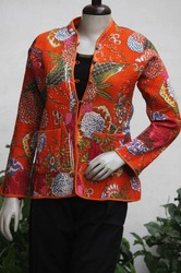 Cotton Quilted Ladies Coat