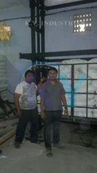 Hydraulic Goods Lift Dual Mast