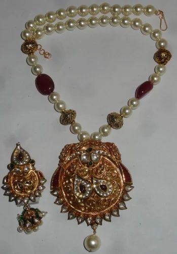 Gold kundan pendant sets indian gold kundan meena pendant set indian gold kundan meena pendant set aloadofball Choice Image
