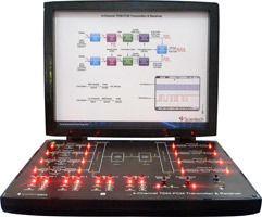 4 Channel TDM PCM Transmitter and Receiver Trainer Kit